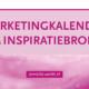 marketingkalender inspiratiebron