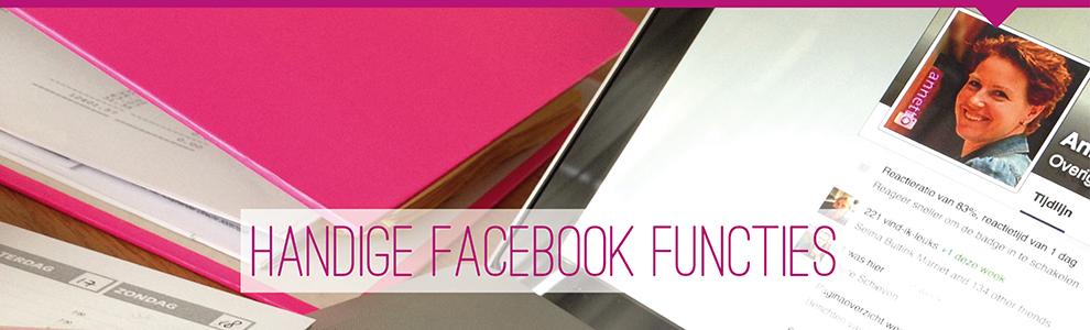 handige facebook functies