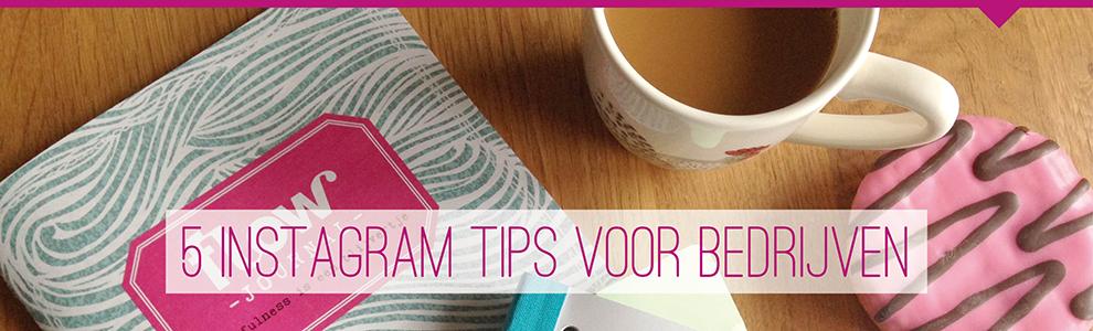 instagram bedrijf tips