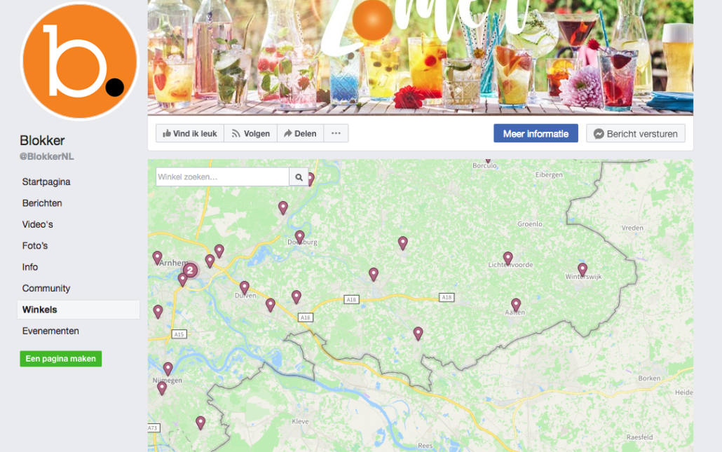 meerdere locaties toevoegen facebook