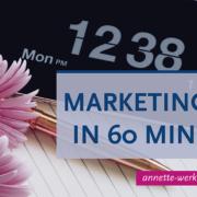 marketingplan maand 60 minuten