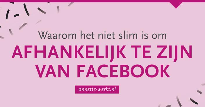 afhankelijk facebook