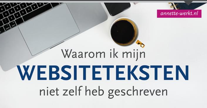 websiteteksten niet zelf schrijven