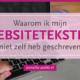 websiteteksten zelf schrijven
