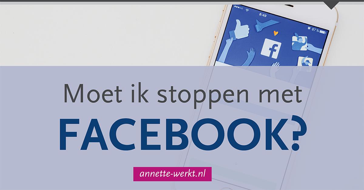 stoppen facebook