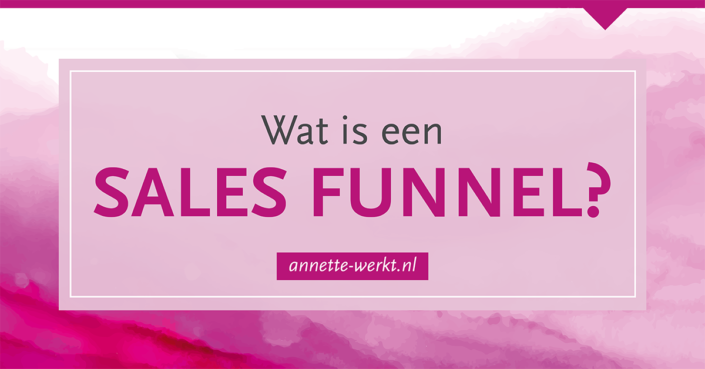 wat is sales funnel