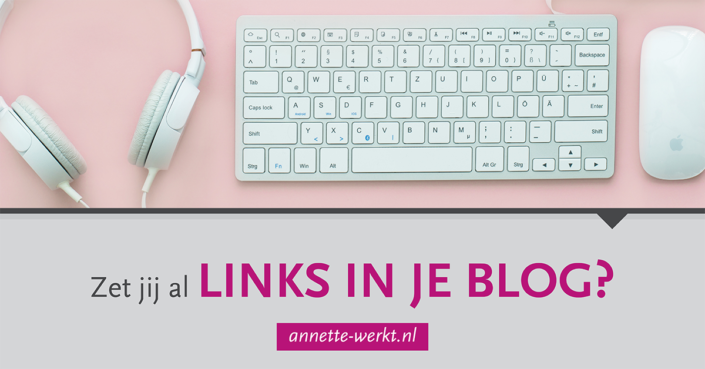 links in blog