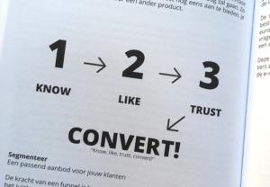 like trust convert funnel