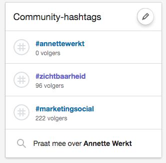 linkedin tips hashtags