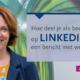 Bericht delen werknemers LinkedIn