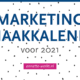 Marketing Inhaakkalender 2021